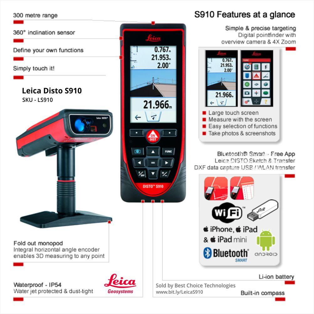 Laser Distancemeter App Leica Disto D2 Meteran Bluetooth Distance Meter Lifetime Warranty No Cost Period Certified Quality Swiss Technology 1002x1002